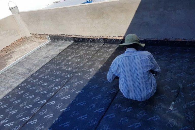 Thi công tấm trải sàn PVC KP Cần Thơ